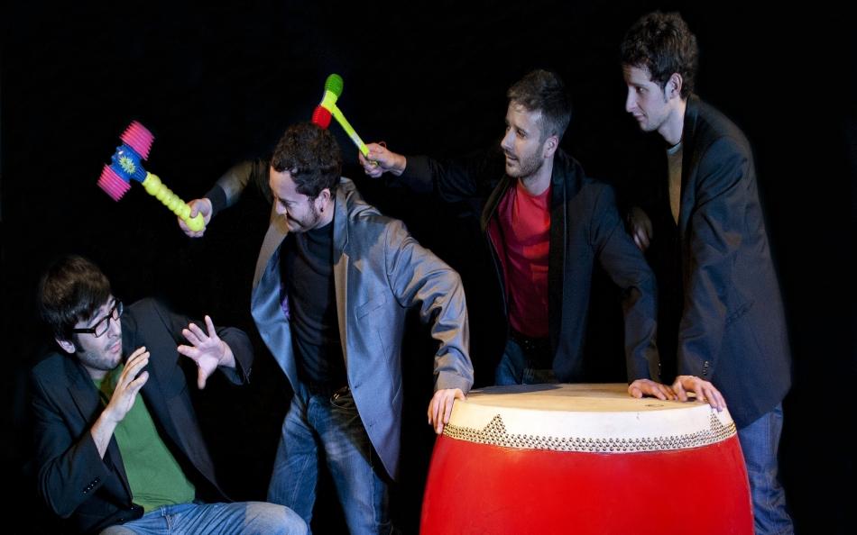 «Vaia circo!» Odaiko Percussion Group, en Pontevedra