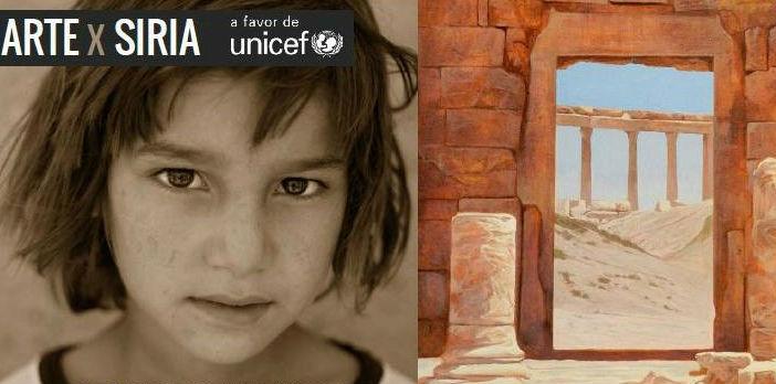 """Exposición """"Arte por Siria"""", en Vigo"""