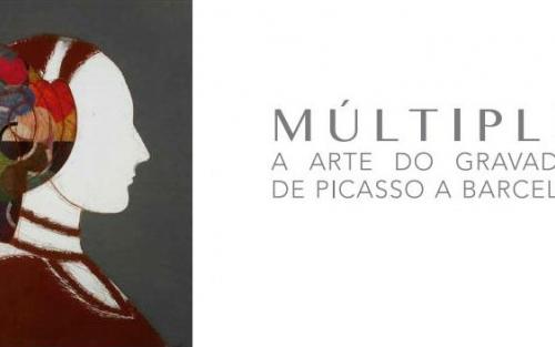 Exposición MÚLTIPLE. A ARTE DO GRAVADO DE PICASSO A BARCELÓ en Verín