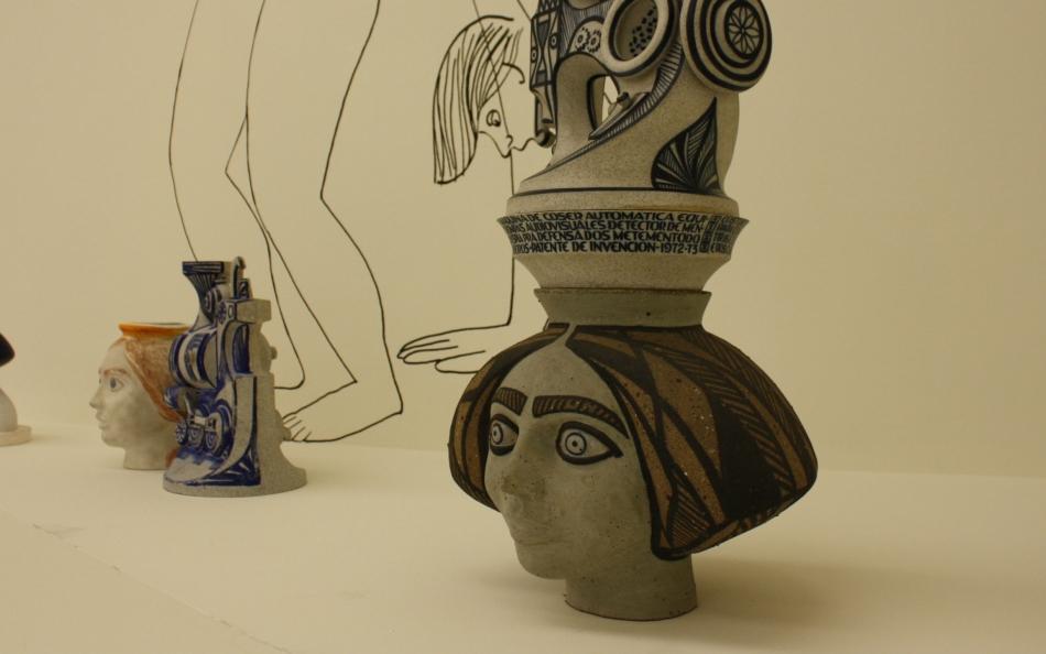 «A vangarda das formas. Obra cerámica de Isaac Díaz Pardo», en A Coruña