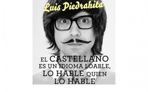 «El castellano es un idioma loable, lo hable quien lo hable», Luis Piedrahita en Santiago de Compostela