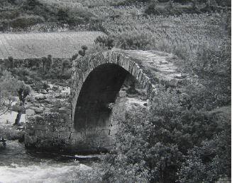 «Documento estético. Fotografía de Ourense do marqués de Santa María del Villar». Ourense