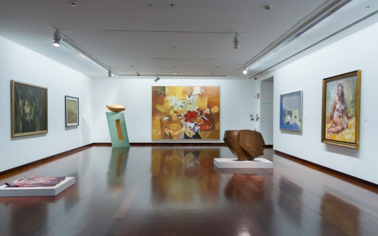 Mostra «Percorrendo a nosa arte. Esencia dunha colección». Vigo