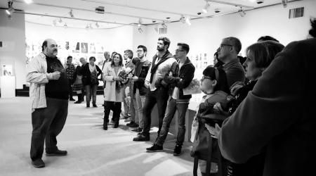 Presentación da mostra en Vigo