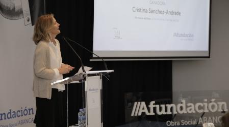 Entrega XL Premio Afundación de Periodismo Julio Camba a Cristina Sánchez-Andrade