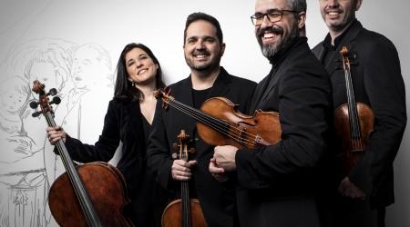 Cuarteto Quiroga. Foto Igor Studio
