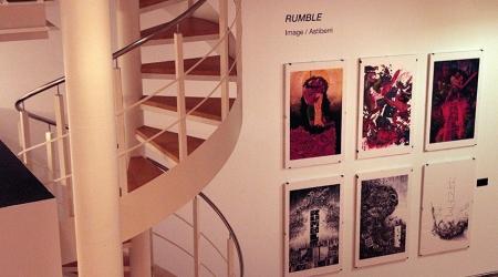"""Exposición: """"Sacrificio e ascensión. 15 anos de cómic de David Rubín"""""""