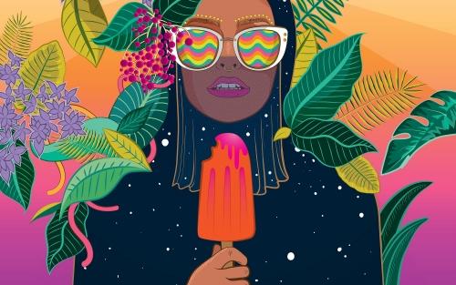 CROMÁTICA. Mostra Internacional de Ilustración Contemporánea na CORUÑA