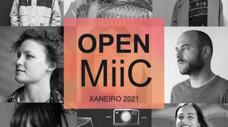 Open MiiC. Encontros virtuais cos artistas