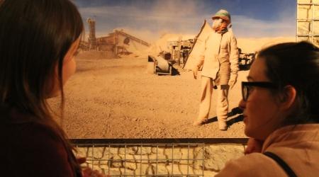 Imaxe da exposición en Santa Comba