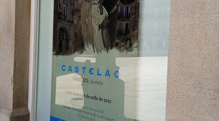 Montaje exposición Ourense