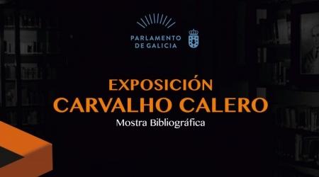 Exposición CARVALHO CALERO. MUESTRA BIBLIOGRÁFICA en Ferrol