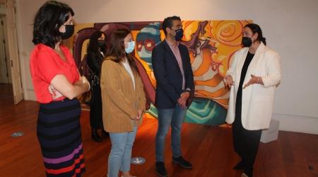 Inauguración «Xuventude Crea. Máis dunha década» en Pontevedra