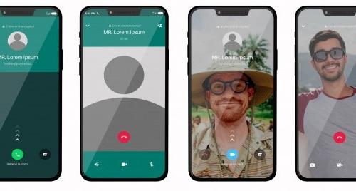 Cómo hacer videollamadas desde Whatsapp, Espazo +60 Pontedeume