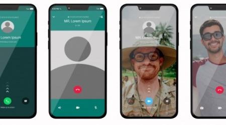 Cómo hacer videollamadas desde Whatsapp, Espazo +60 Monforte