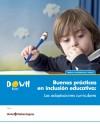 Portada guía Boas prácticas en inclusión educativa