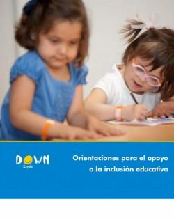 Portada guía Orientaciones para el apoyo a la inclusión educativa